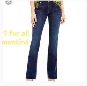 💗 7 for all mankind Bootcut jeans sz. 26